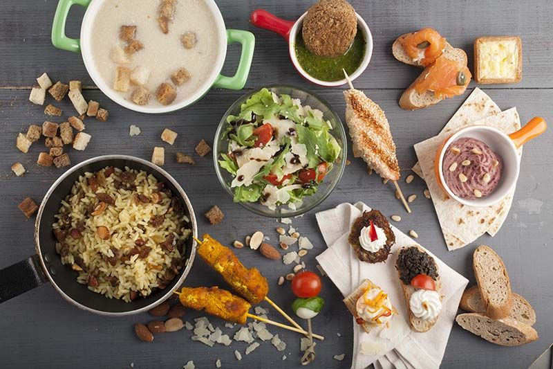 Catering - livrare meniu bufet suedez