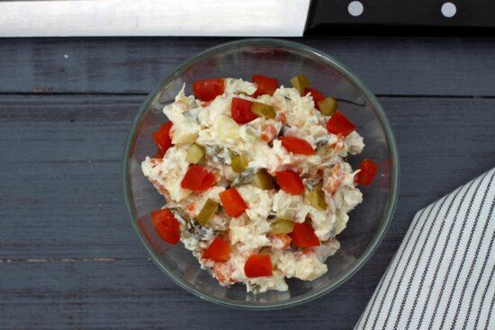 Salata a la russe de post - Bucate pe Roate