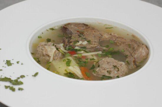 Supa de rasol si perisoare de vacuta 2kg - Bucate pe Roate