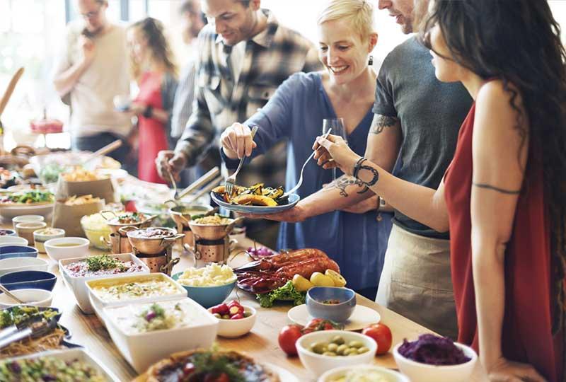 catering evenimente corporate - Bucate pe Roate